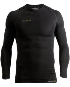 Knap'man UltraThin Compression Langarm-Shirt schwarz
