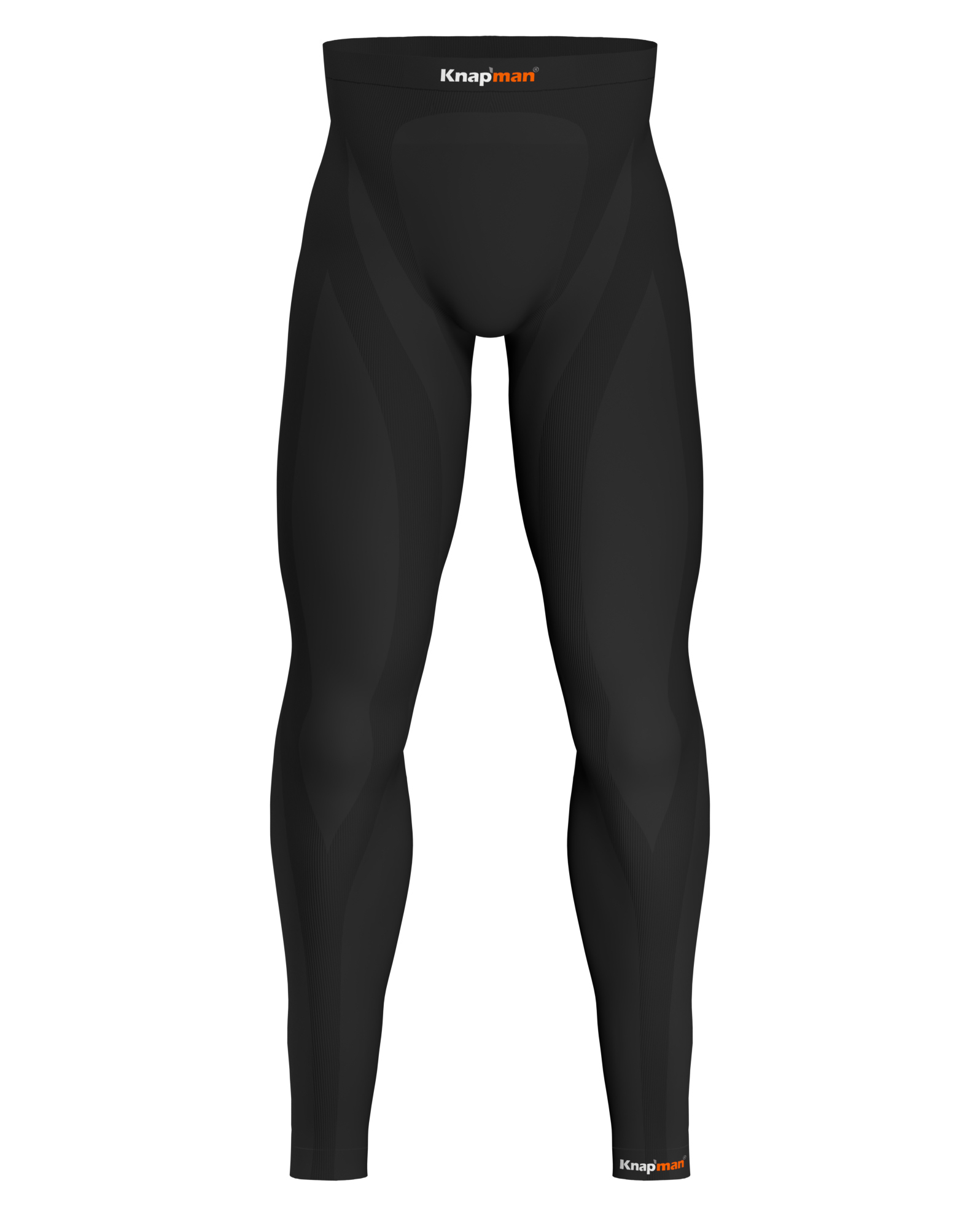 Knap'man Zoned Compression Tights Long 25% schwarz