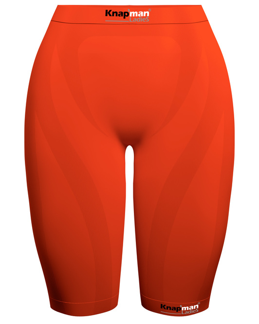 Knap'man Ladies Zoned Compression Short USP 45% orange
