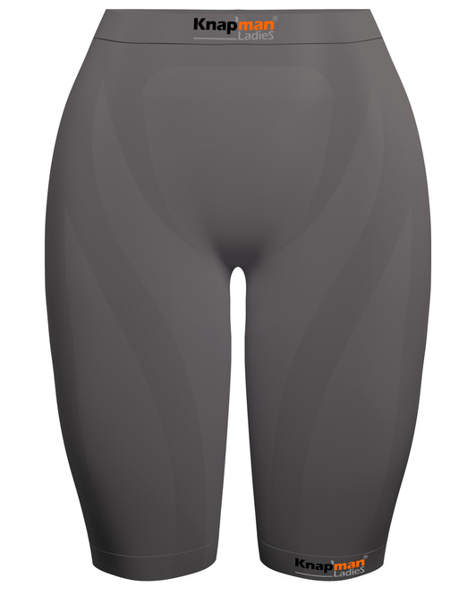 Knap'man Ladies Zoned Compression Short 45% grau