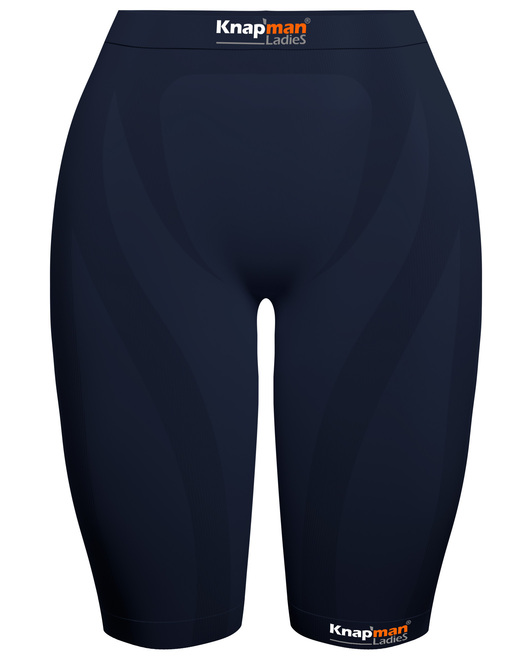 Knap'man Ladies Zoned Compression Short USP 45% navy blue