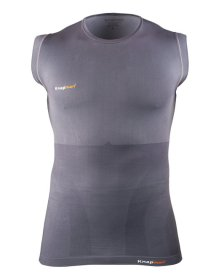 Knap'man Sleeveless Kompressionsshirt Grau