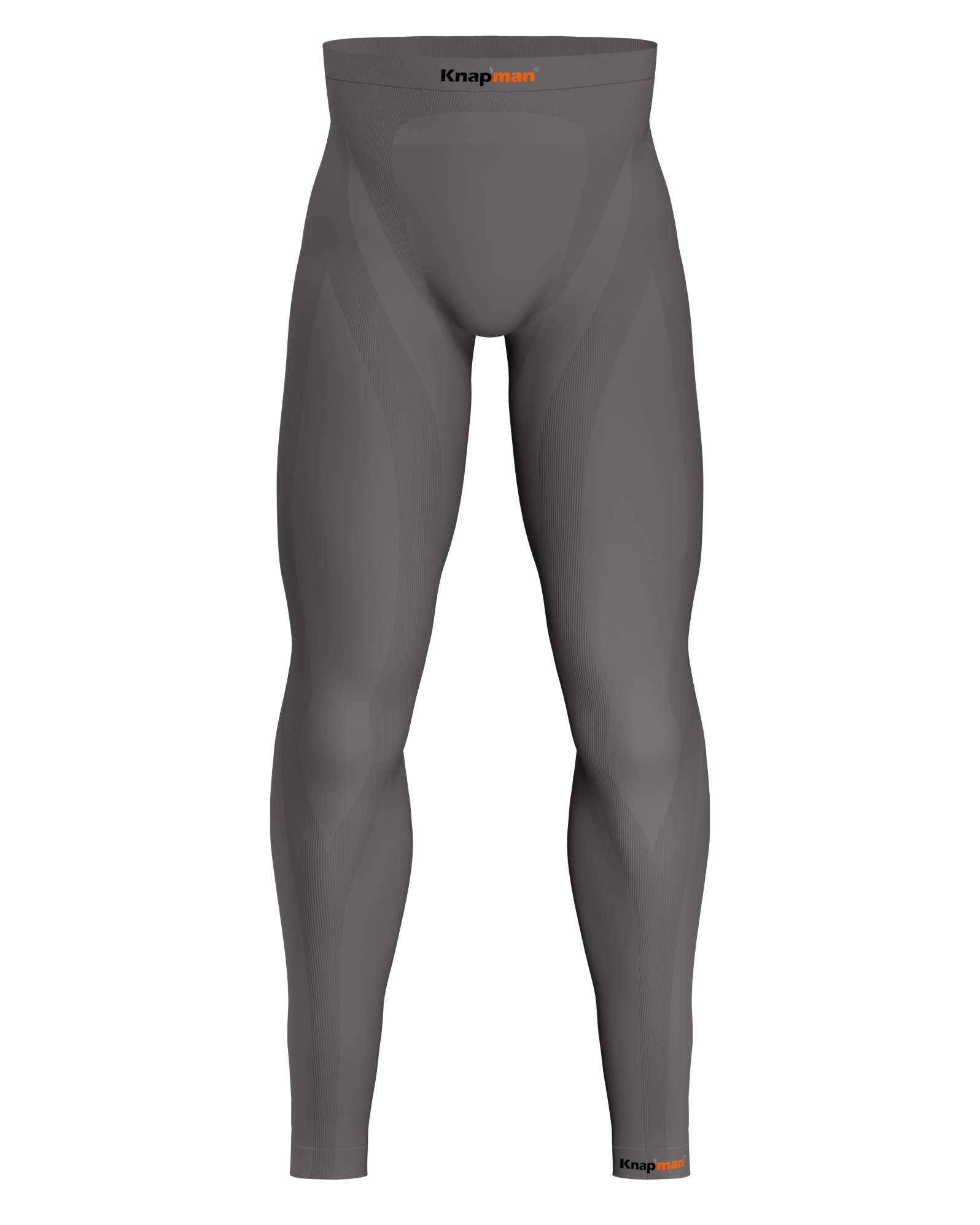 Knap'man Zoned Compression Tights 45% grau